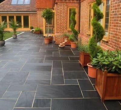 Black Limestone Tiles